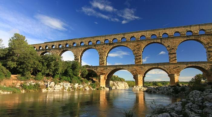 The Pont du Gard is a testament to Roman engineering