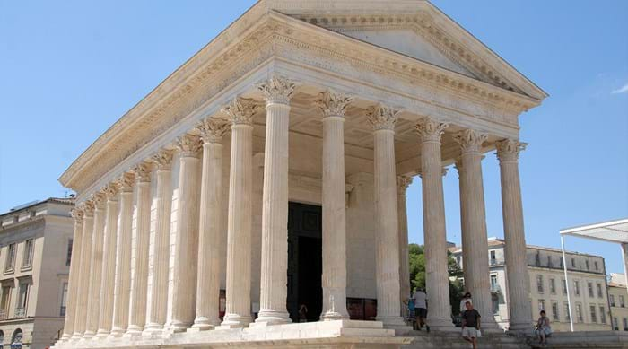Maison Carrée in Nîmes is a glory to behold
