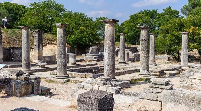 There's no experience quite like walking among the Roman ruins at Glanum