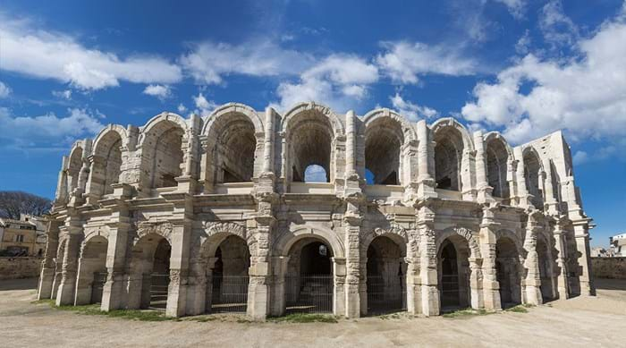 The amphitheatre in the French town of Arles has stood the test of time