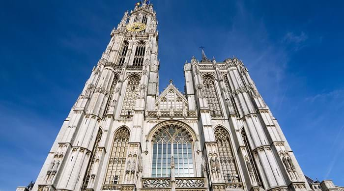 Cathedral of Our Lady is one of the largest gothic cathedrals in Belgium, the Netherlands and Luxembourg.
