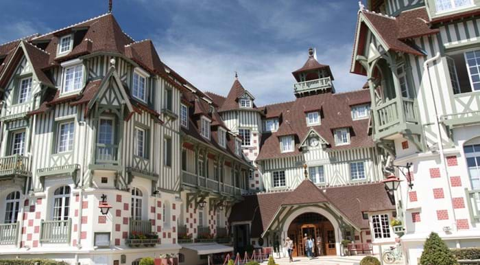 One of the most luxurious hotels in Deauville, Hotel Barrière Le Normandy has had some famous guests.