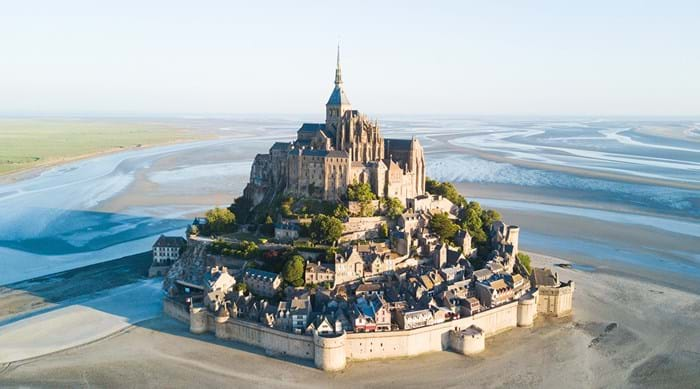 It's believed that Mont Saint-Michel was conceived in a dream.