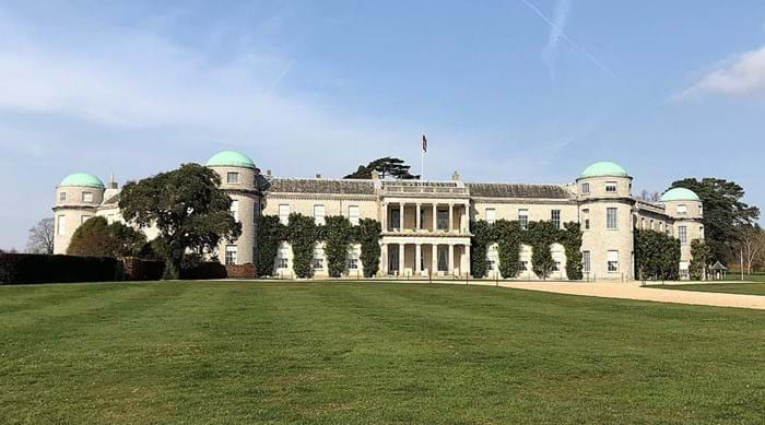 La Goodwood House, bastion des Ducs de Richmond.