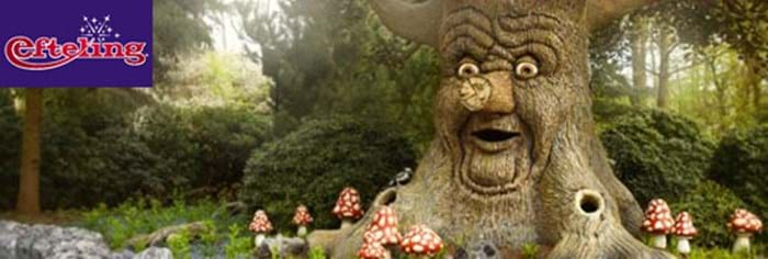 Efteling, 1hour 15 Minutes drive from Eurotunnel Le Shuttle's Calais Terminal