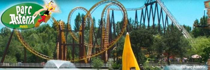 Parc Asterix, 3 hours drive from Eurotunnel Le Shuttle's Calais Terminal