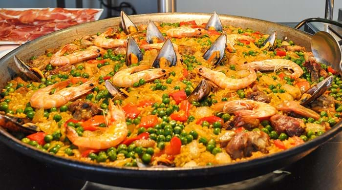Paella can come in many different varieties