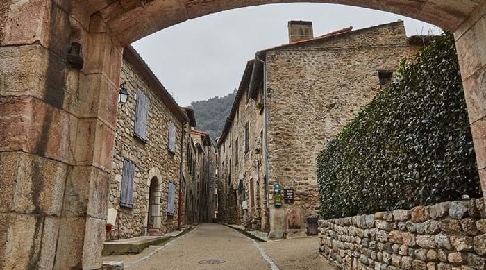 A stroll around the walled town of Villefranche-de-Conflent is like taking a step back in time