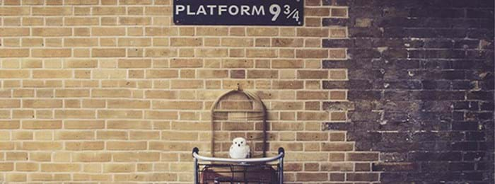 d'Harry Potter à la gare de King's Cross